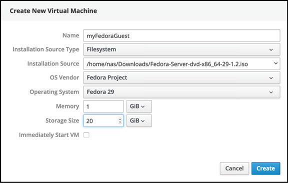 Creating KVM Virtual Machines on RHEL 8 using Cockpit and