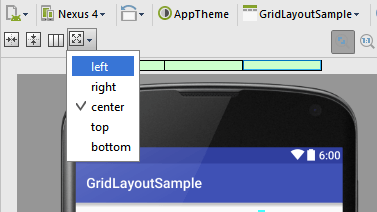 Android studio gridlayout gravity 1.4.png