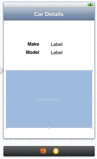 Designing the user interface of a storyboard view