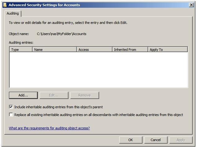 File:Windows server 2008 file and folder auditing entries.jpg