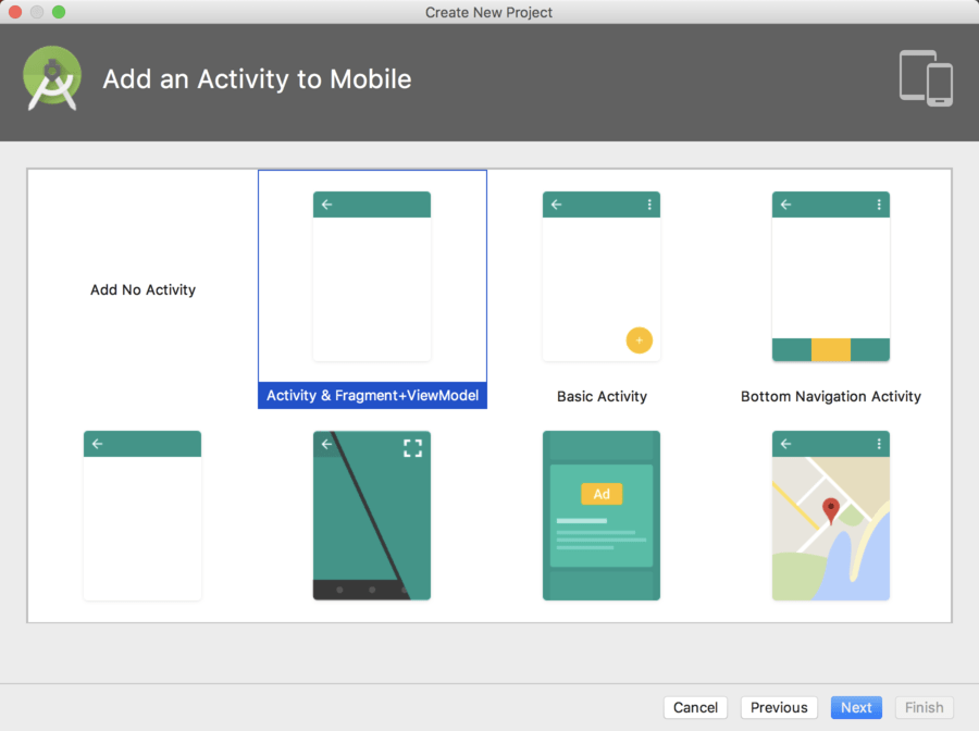 Android studio view model activity template.png