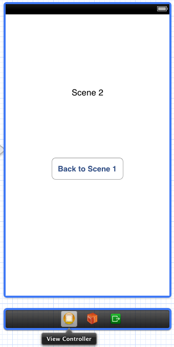 Accessing the View COntroller associated with a storyboard scene