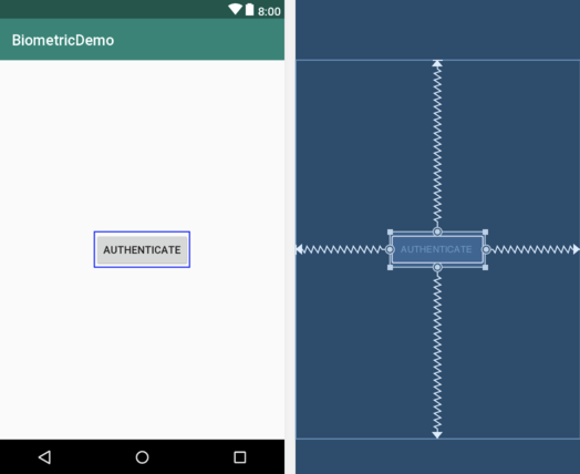 An Android Biometric Authentication Tutorial - Techotopia