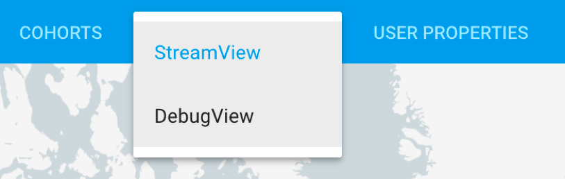 Firebase analytics debugview menu.png