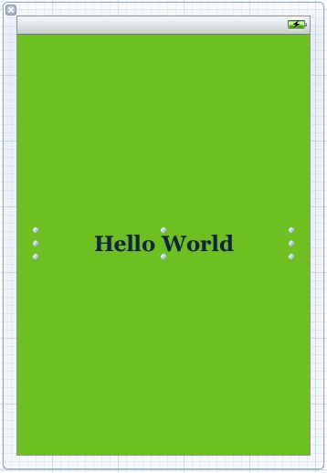 Xcode 4 helloworld UI