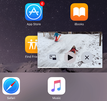 An iOS 9 Multitasking Picture in Picture Tutorial - Techotopia