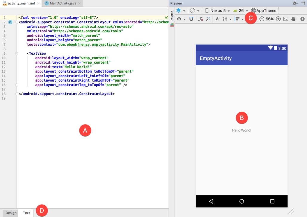 Kotlin - A Guide to the Android Studio Layout Editor Tool