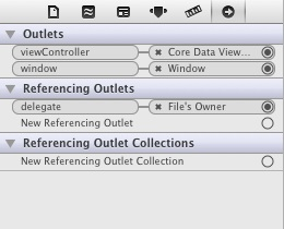 App Delegate connected to view contoller in Xcode 4