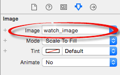 Setting the image on a WatchKit image object