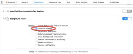 Getting Location Information using the iOS 11 Core Location