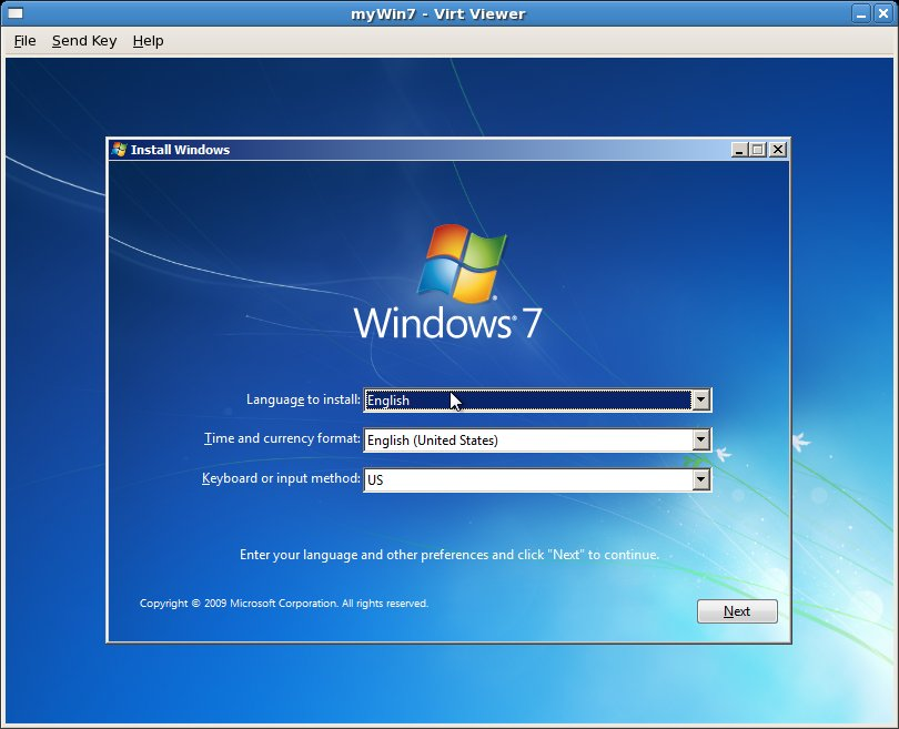 Installing a CentOS KVM Guest OS from the Command-line (virt