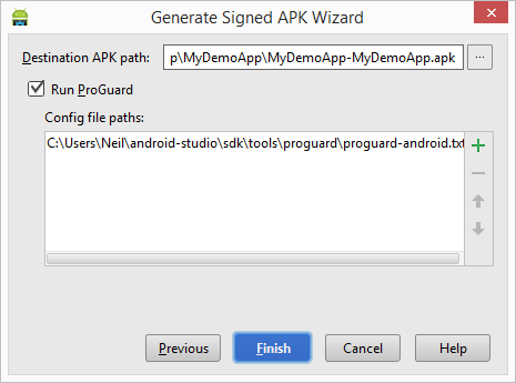 How To Change The Generated Apk Name In Android Studio