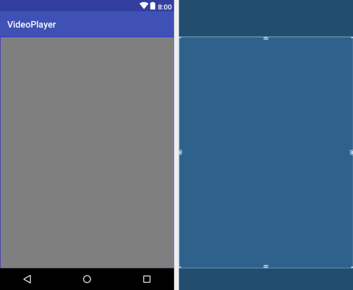Implementing Video Playback on Android using the VideoView