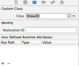 Changing the class of a view instance in Xcode 5