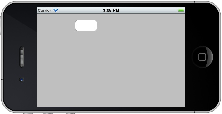 An iPhone iOS 5 example without autosizing configured