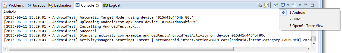 Testing Android Applications on a Physical Android Device