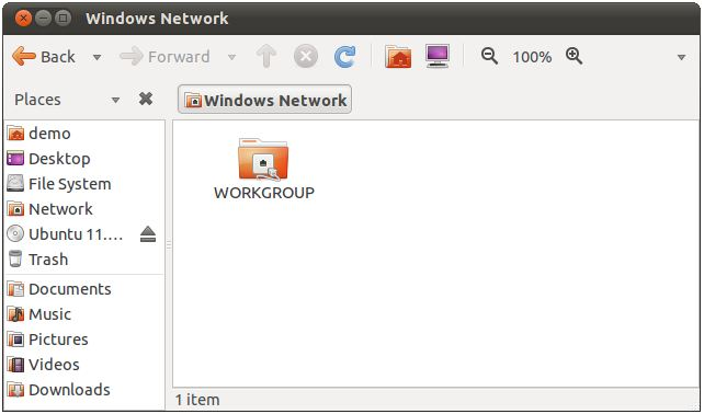 Sharing Ubuntu 11 04 Files and Folders with Windows Systems - Techotopia