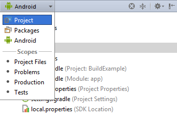 Android studio change project mode.png