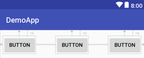 Working with ConstraintLayout Chains and Ratios in Android Studio