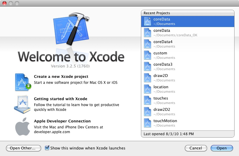 how to create a simple app in xcode