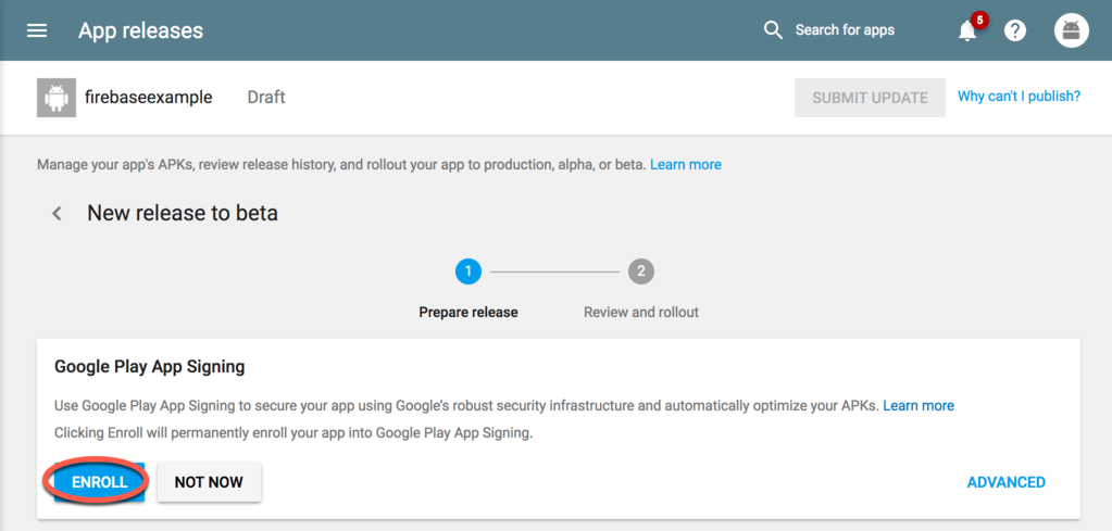 Signing and Preparing an Android App for Release - Techotopia