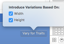 Introducing trait variations