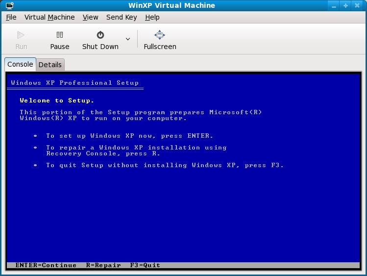 Installing a KVM Guest OS