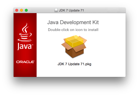 Installing Java on Mac OS X