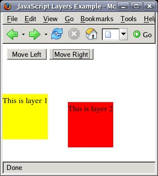 JavaScript and CSS - Dynamic Styles and Layers - Techotopia