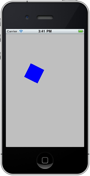 An iOS 4 iPhone Core Animation Example
