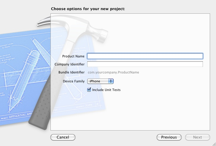 Configuring Xcode 4 iPhone project options