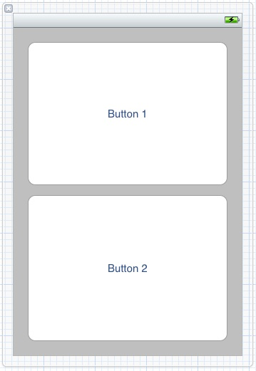 Large button example user interface