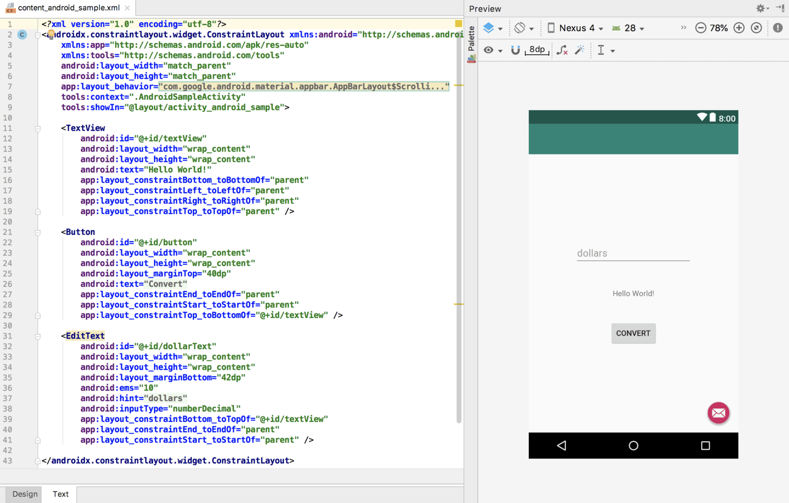 As 3.2 android sample layout xml.png