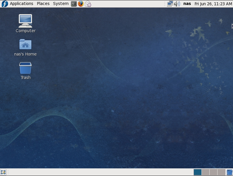 The GNOME desktop