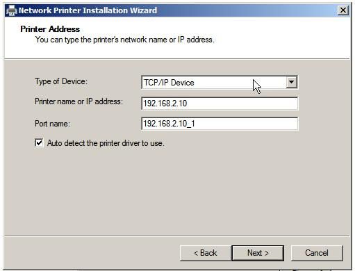 Windows Server 2008 R2 Printer Drivers
