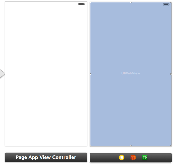 An iOS 7 UIPageViewController example storyboard