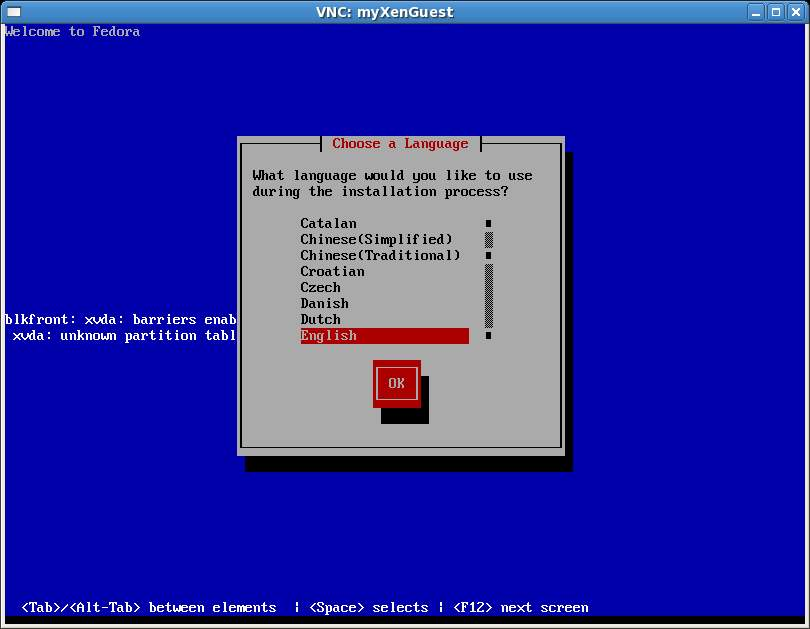 Installing a Xen Guest OS from the Command-line (virt