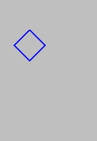 A path drawn on an iPhone using Quartz 2D on iOS 5