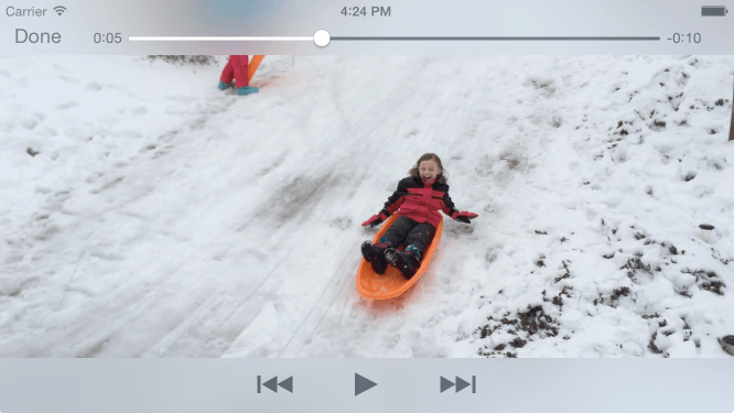 iOS 10 Video Playback using AVPlayer and AVPlayerViewController