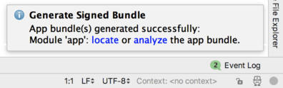 Android studio 3.2 app bundle generated.png