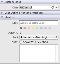 Changing the class of an iOS 5 interface builder object