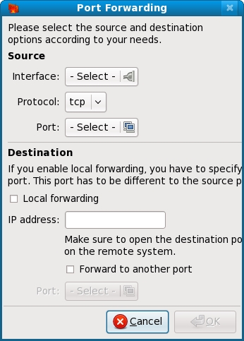 Configuring Fedora Firewall Port Forwarding