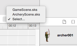 Xcode 7 action select scene.png