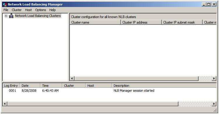 how to build windows cluster server 2008