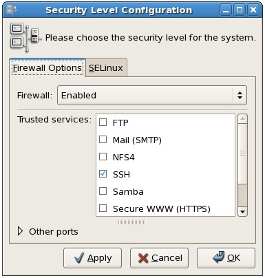 docs security configuration firewall config inspect basic