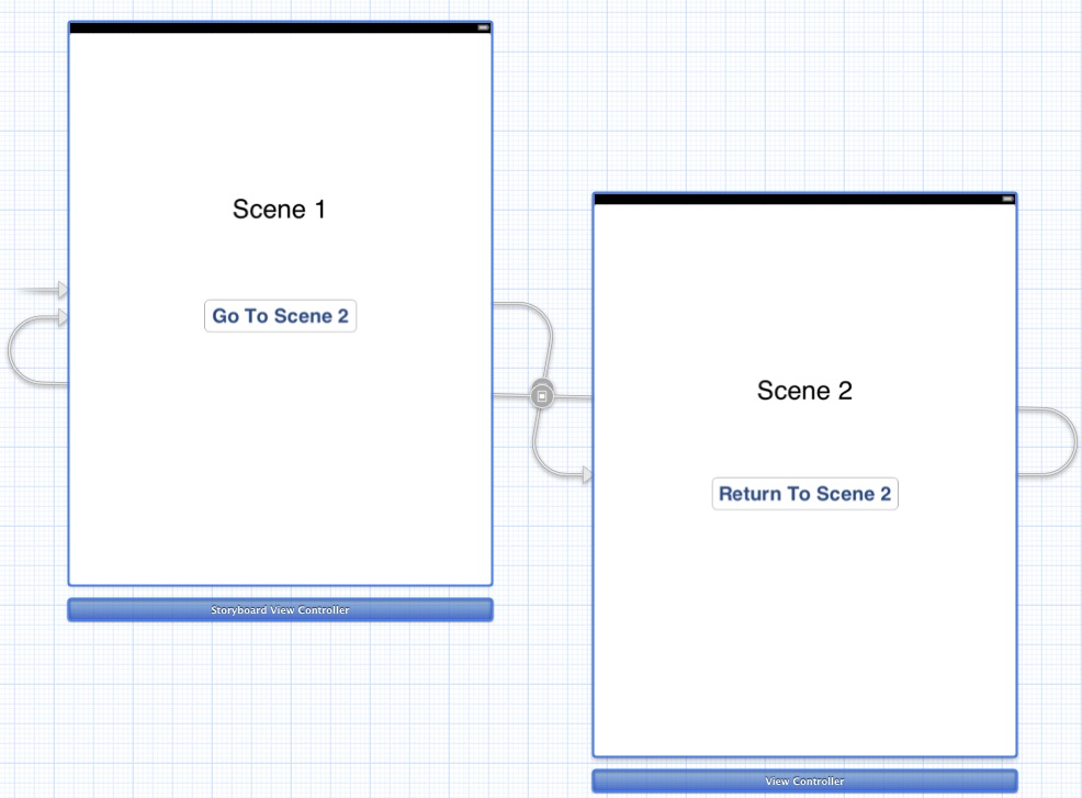 Xcode storyboard segues