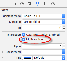 Enabling touch support in an iOS Xcode project