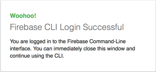 Firebase cli logged in.png