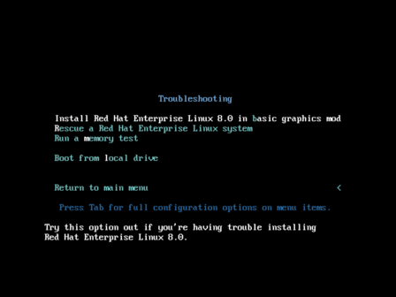 Rhel 8 troubleshooting boot screen.png