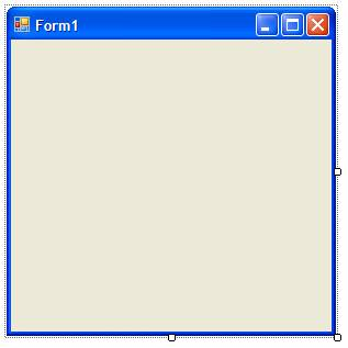 Blank Visual Studio Form